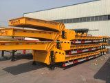 30 반 톤 3 차축 평상형 트레일러 트레일러 낮은 로더