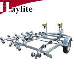 Strahlen-Ski-Aluminiumboots-Schlussteil-Teile galvanisierter Rahmen