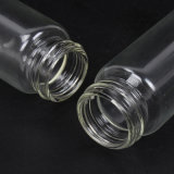 Bottiglia del tubo di vetro dell'olio essenziale con il contagoccia di occhio