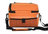 Orange Isoliermittagessen-Kasten-Picknick-Kühlvorrichtung-Unisexbeutel