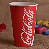 Copa de papel fria para suco