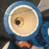 Mattonelle di ceramica della fodera del tubo dell'ossido di alluminio per i gomiti del tubo d'acciaio