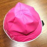 Румяные красные крышка/плащ /Rain шлема дождя PU шаржа для детей