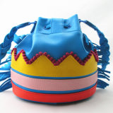 Bunte Tribal Beats Bucket PU-Beutel