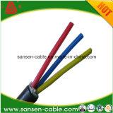 0,6 / 1kV cables de transmisión de XLPE conductor de cobre Humillados
