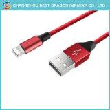 Rotes Nylon-umsponnene Daten, die USB 2.0 Typen-c Kabel USBc 1m zum USB-3.1 aufladen