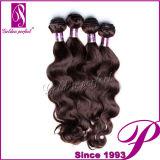 Новые поступления необработанных Virgin индийского ослабленных волос Extenison кривой