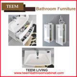 Armário moderno europeu da vaidade do banheiro da madeira contínua do estilo da alta qualidade