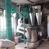 Limpeza de grão e máquina de trituração