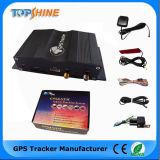 Il GPS GSM due ha individuato il doppio inseguitore di GPS del veicolo di Obdii della gestione del parco dei sensori del combustibile di Ssim