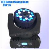36*3W Mini-LED Träger-bewegliches Hauptwäsche-Licht für Stadium