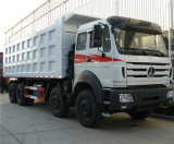 販売のためのBeiben 8X4 12の車輪のダンプカートラックのダンプトラック