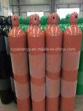 Cilindro de alta pressão do argônio do nitrogênio do oxigênio com ASME
