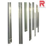 Profils en aluminium/en aluminium d'extrusion pour la pipe sans joint de base-ball