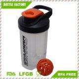 Neuer Entwurfs-geben Plastikprotein-Schüttel-Apparatflasche BPA frei