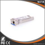 Cisco 호환성 10GBASE-BX 1270nm TX, 1330nm RX, 10.3Gbps, SM, 60km 의 단 하나 LC SFP+ 송수신기
