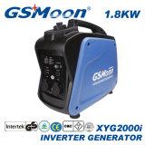 1.7kVA Rpm 미터 휴대용 힘 침묵하는 가솔린 변환장치 발전기