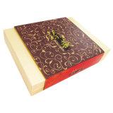 Verpakkende Doos van de Gift van het Karton van de Juwelen van de douane de Bruine