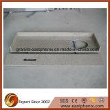 Parte superiore beige naturale di vanità della cucina/stanza da bagno del granito