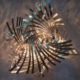 Утюг искусствоа уникально конструкции Twisted режа привесной светильник