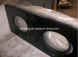 Shanxi Black Flamed Granite Slab for Countertop & Vanity Top