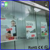 Light Box Sign para exibição publicitária com moldura de alumínio
