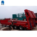 3 Wellen 40 Tonnen grosse Größen-schwere Kapazitäts-neue niedrige Bett-halb Schlussteil-