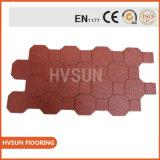 Mattonelle di pavimento di gomma di parcheggio automobile/della fabbrica/mattonelle di gomma di collegamento