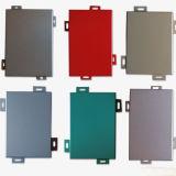 Comitato di parete di alluminio decorativo di colore puro