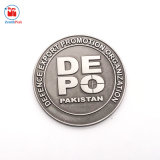 鉄は打たれたより安いパキスタンの硬貨のサイズを停止する