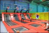 Trampolino dell'interno per la strumentazione di forma fisica e la ricreazione Sporting