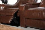 ホーム家具のリクライニングチェアの革ソファーモデル442