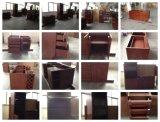 Armário de cozinha simples de madeira maciça de bordo
