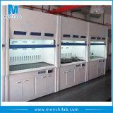 Armário de emanações químico do laboratório do projeto novo