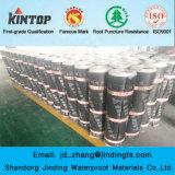 Membrane imperméable à l'eau de bitume modifiée par Sbs de papier d'aluminium