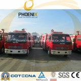 La lucha contra incendios depósito de agua de Dongfeng camioneta 4x2