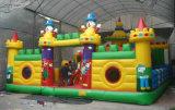 Горячий продавать Gaint надувной замок мультфильмов в тематический парк