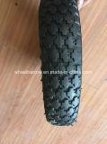 3.00-8 Gummischubkarre-Reifen mit Felge und innerem Gefäß
