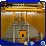 Handkurbel-Laufkatze-Typ Doppelt-Träger-Laufkran und Aufbau-Maschinerie