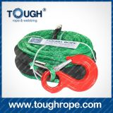 Wakeboard Winch Dyneema Synthetic 4X4 Winch Rope avec crochet Doublure en mousse emballée comme ensemble complet