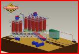 クロム鉱石の分離のためのネジ・シュートの採鉱設備