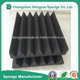 Mousse insonorisée adhésive ignifuge d'éponge de forme de cale d'utilisation insonorisée de ventilateur