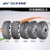 Un hombro más fuerte todo el carro radial de acero pone un neumático 11r22.5 11r24.5 385 65r22.5 315 80r22.5 295/75r22.5