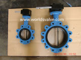 세륨 ISO Wras Certificates를 가진 Ggg40 Lug Type Threaded Screw End Butterfly Valve