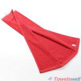 Custom llano blanco de algodón toalla Golf