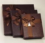 Rectángulo de papel de encargo de empaquetado del rectángulo de regalo del rectángulo del chocolate de la Navidad