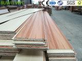 Techo compuesto plástico de madera impermeable respetuoso del medio ambiente de la decoración interior