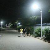 lámpara de calle solar del sensor de movimiento 50W LED con energía solar