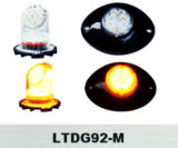 높은 광도 LED 경고등 LED 석쇠 빛