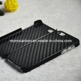 Caja de la fibra de carbono del surtidor de China para el iPhone de Se